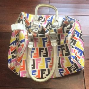 Multicolor FENDI tote bag